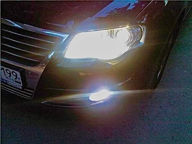 Как я сделал свет ярче, не трогая фары на своем авто
