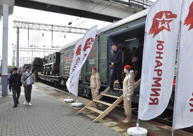 Юнармейцы Ростовской области приняли участие во всероссийской акции «Мы — армия страны! Мы — армия народа!»