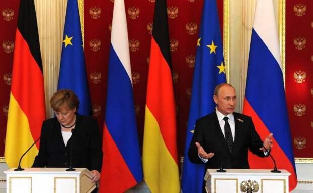 В немецком СМИ: Германия бессильна перед Россией Путина