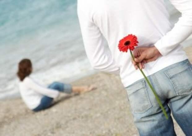 Мужчины склонны к романтике больше чем женщины