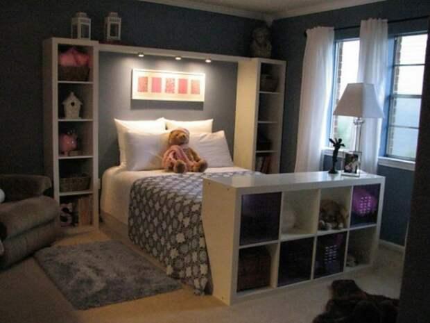 Спальня из икеевской мебели