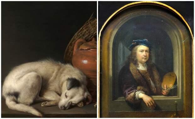 Почему «малый голландец» Герард Доу писал портреты без ушей, которые стоили дороже картин Рембрандта
