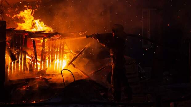 Пожар под Иркутском мог начаться по вине человека