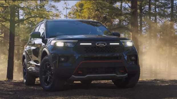 Компания Ford представила новый внедорожник Explorer Timberline