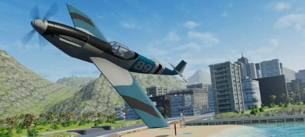 Создание, крушения и перестрелки моделек самолетов в трейлере Balsa Model Flight Simulator