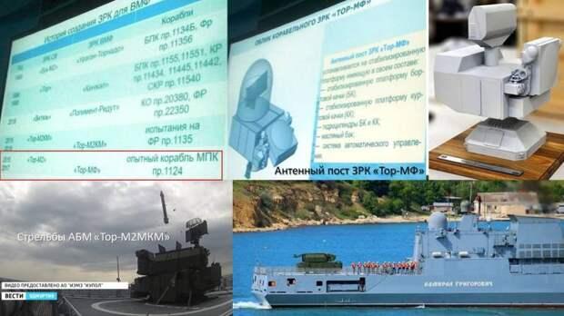 Зенитно-ракетный «позитив»: ВМФ начал стрелять по реальным целям