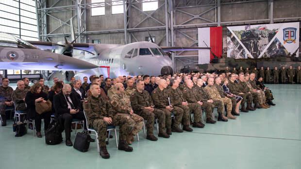 Брифинг перед военными учениями НАТО Defender 2020