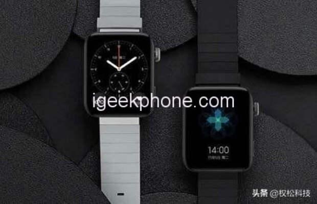 Смарт-часы Xiaomi Mi Watch 2 могут получить обновлённый дизайн и поддержку 5G
