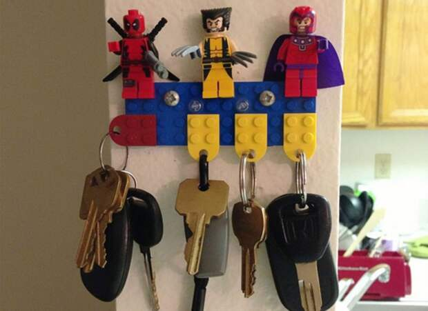 27 гениальных способов использовать Lego, окоторых вынаверняка недогадывались