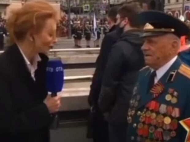 Журналистка из Владивостока прервала интервью с ветераном ВОВ, увидев губернатора