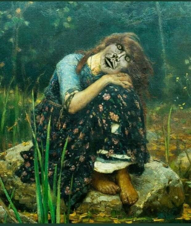 Шокирующий памятник «Аленке» вНововоронеже всети назвали «Русской Смертью»