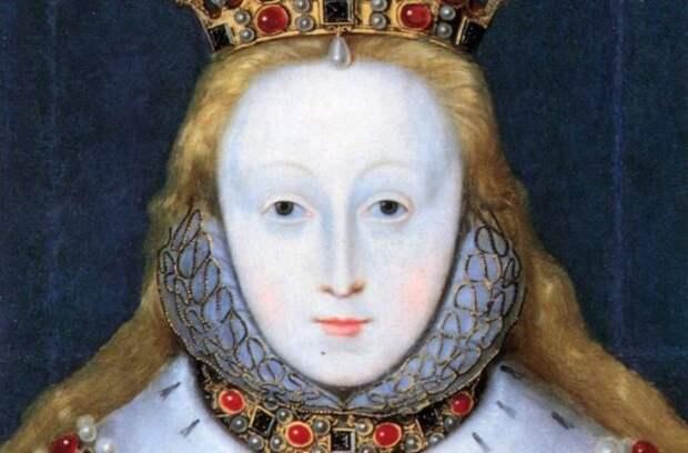 портрет бледной рыжей женщины из средневековья