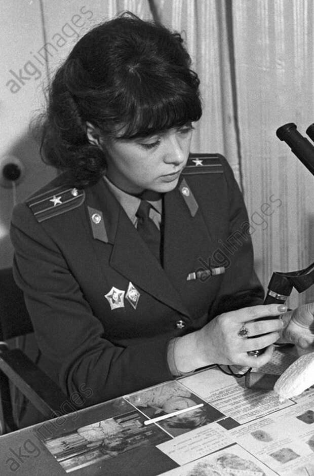 Police major Larisa Samarina