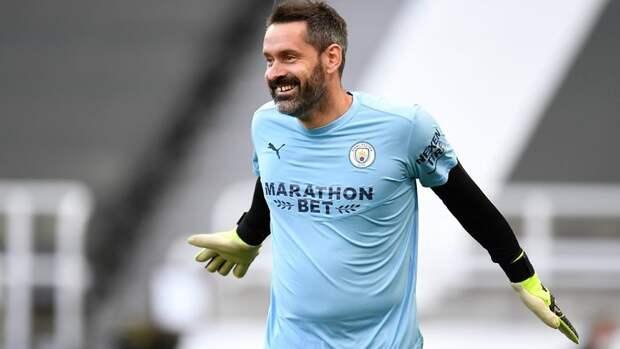 Вратарь «Манчестер Сити» Карсон вышел на поле в матче АПЛ впервые за 3645 дней
