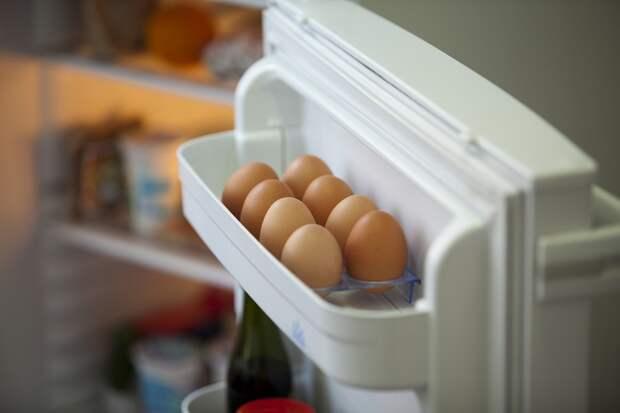 хранение яиц в холодильнике
