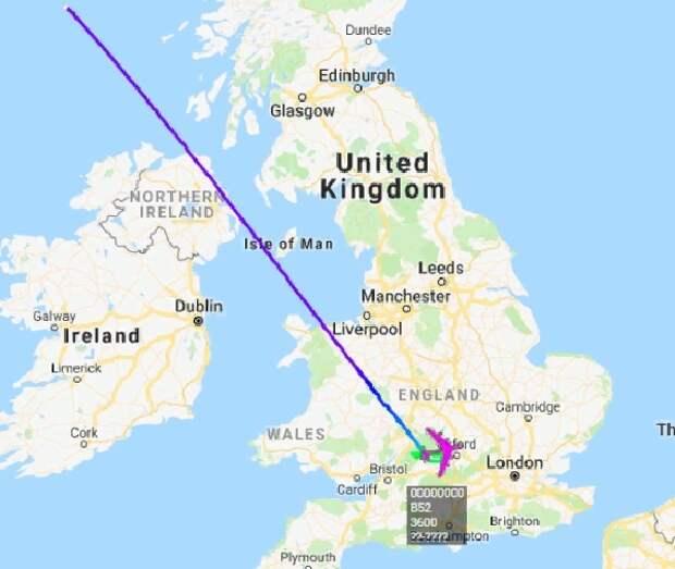 США перебросили в Великобританию шесть ядерных бомбардировщиков