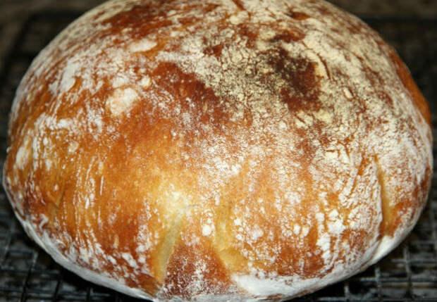 Как сделать хлеб без замешивания теста
