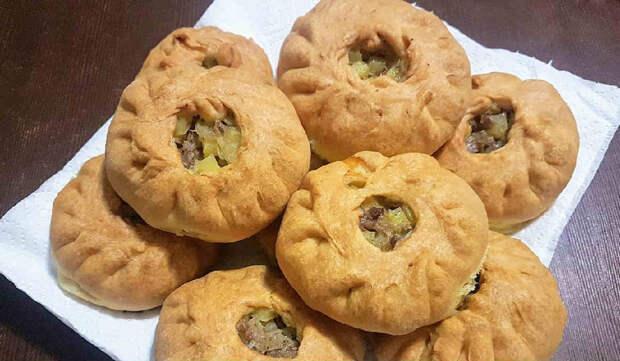 Татарские пирожки. Несладкая выпечка с вкусной начинкой 2