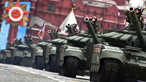 На Красной площади прошел главный военный парад страны