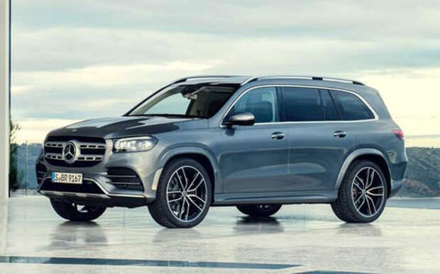 Новый Mercedes-Benz GLS: салон на 7, двигатель на 8