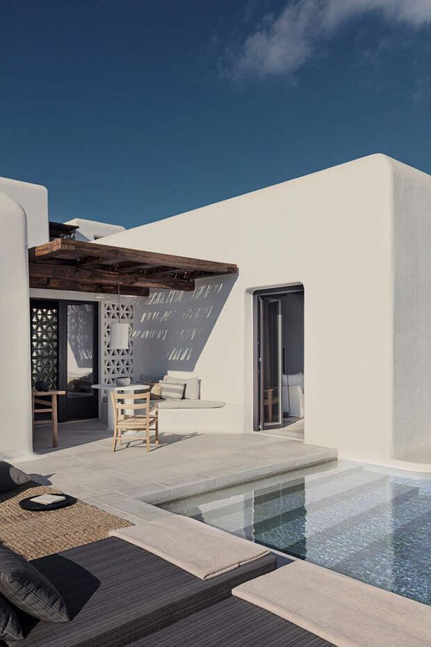 Стильный средиземноморский интерьер: новый отель Kalesma на острове Миконос