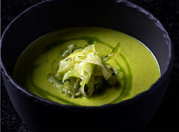 Греческий огуречный суп на йогурте
