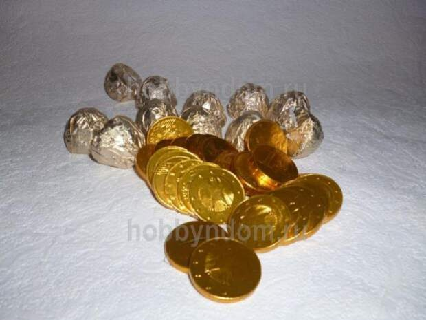 рог изобилия из конфет (12)