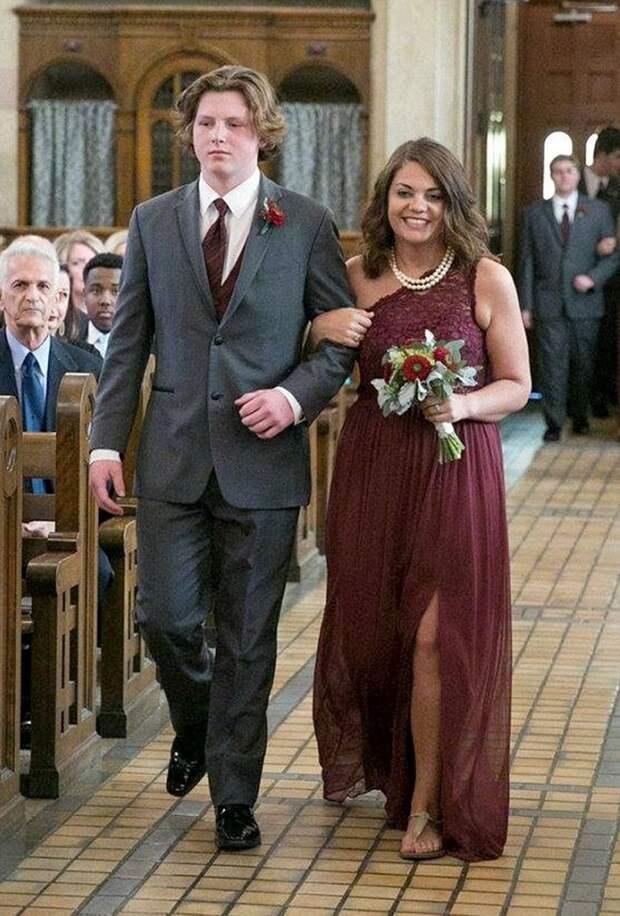 120-килограммовая американка сбросила 70 кг, испугавшись собственной фотографии со свадьбы