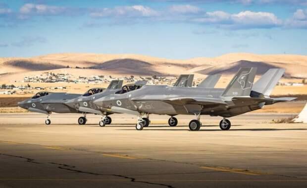В Европу «для борьбы с Ираном» прибыли израильские истребители F-35