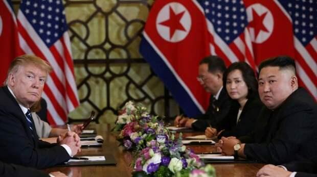 Названа возможная причина преждевременного завершения саммита Трампа и Ким Чен Ына