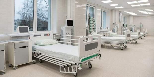 Собянин открыл коронавирусный стационар на базе клиники «РЖД-Медицина»/ Фото mos.ru