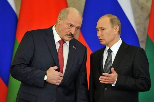 Александр Лукашенко и Владимир Путин. Фото: Komsomolskaya Pravda/Global Look Press/www.globallookpress.com