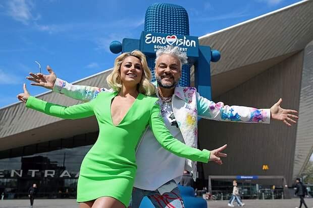 Странное поведение Филиппа Киркорова на Евровидении вызвало оторопь