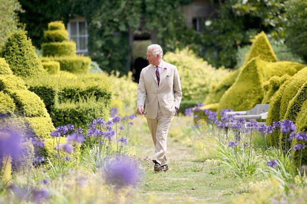 Принц Чарльз королевские сады