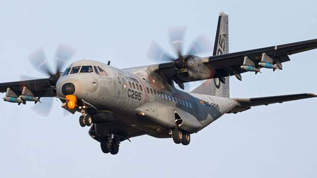 Airbus тестирует ударный самолёт на базе транспортника C295