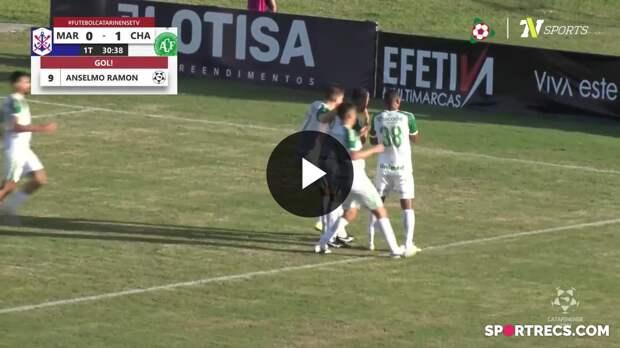 Marcílio Dias 1 x 4 Chapecoense - Melhores Momentos Semifinal Campeonato Catarinense (16/05/2021)