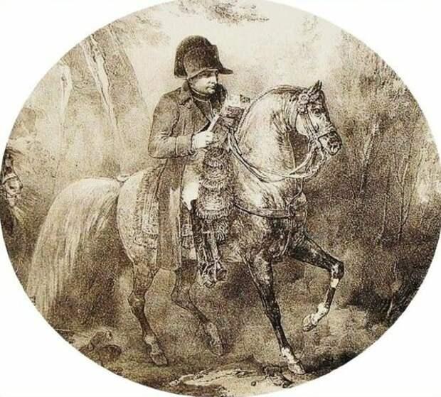 Император Наполеон I в 1807 году.