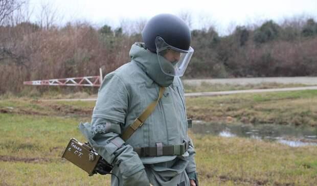 Саперы обезвердили десятки боеприпасов времен ВОВ на полигоне Прудбой