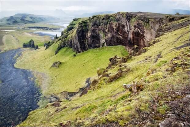 Исландия, солянка южного побережья