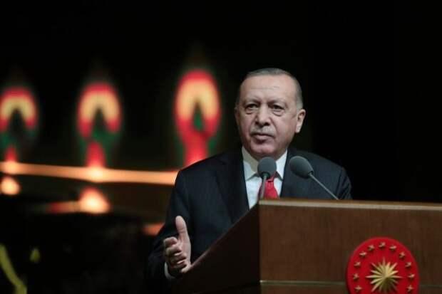Истощение ради спасения: Эрдоган назвал объëм потраченной валюты