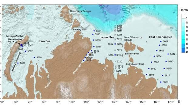 Органика в водах Северного Ледовитого океана улучшит работу со спутниковыми данными