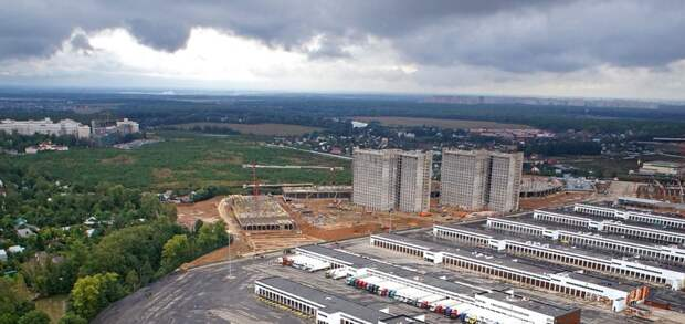 Завершается строительство складского комплекса в технопарке «Индиго»