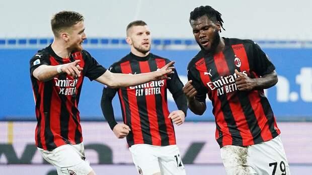 «Милан» победил «Дженоа» благодаря автоголу соперника