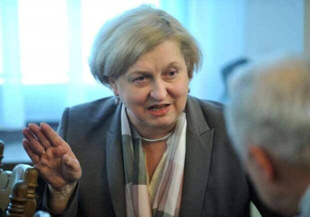 Анна Фотыга, депутат от Польши. Фото: laripablica.ts