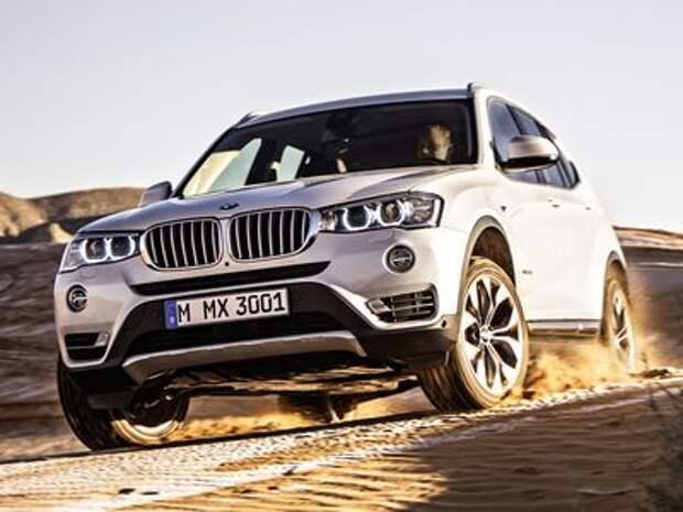 Новый BMW X3: перезарядка орудий в следующем году