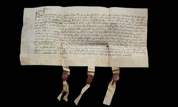 Как в Средневековье боролись с поддельными документами с помощью бумаги из овечьих шкур