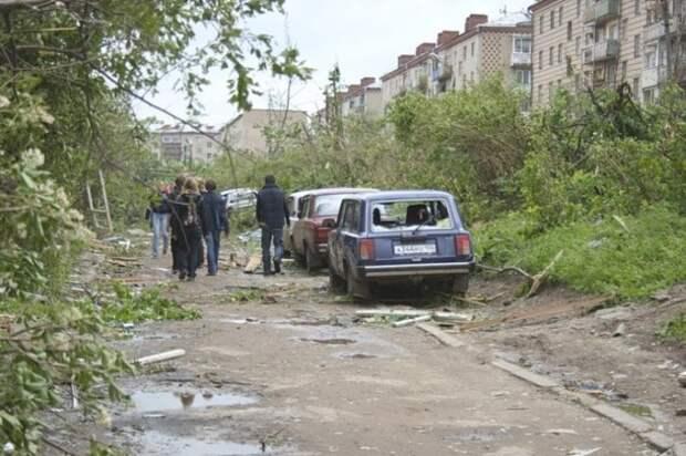 Торнадо в Московской области (20 фото)