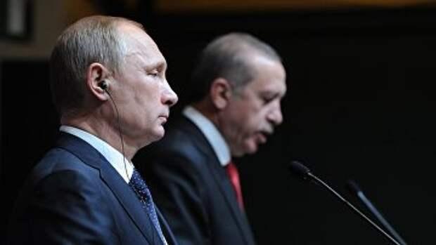 Рабочий визит Владимира Путина в Турцию