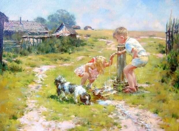 художник Николай Козленко картины – 36