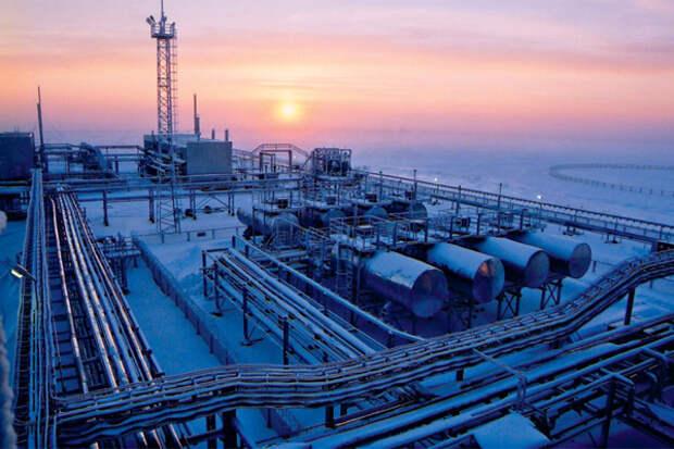 Добыча газа Арктика РФ
